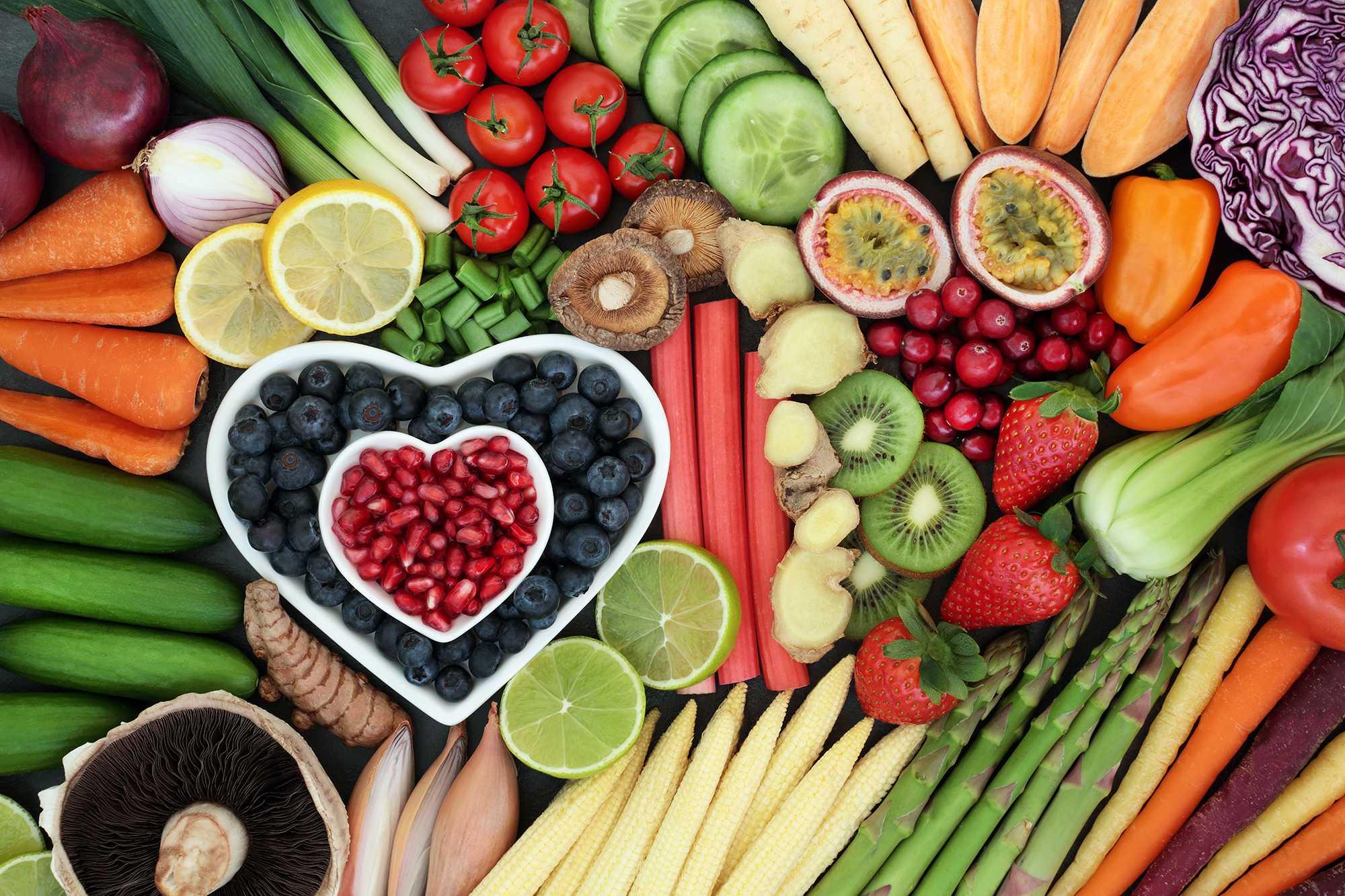 ¿Por qué hay que comer frutas y hortalizas?