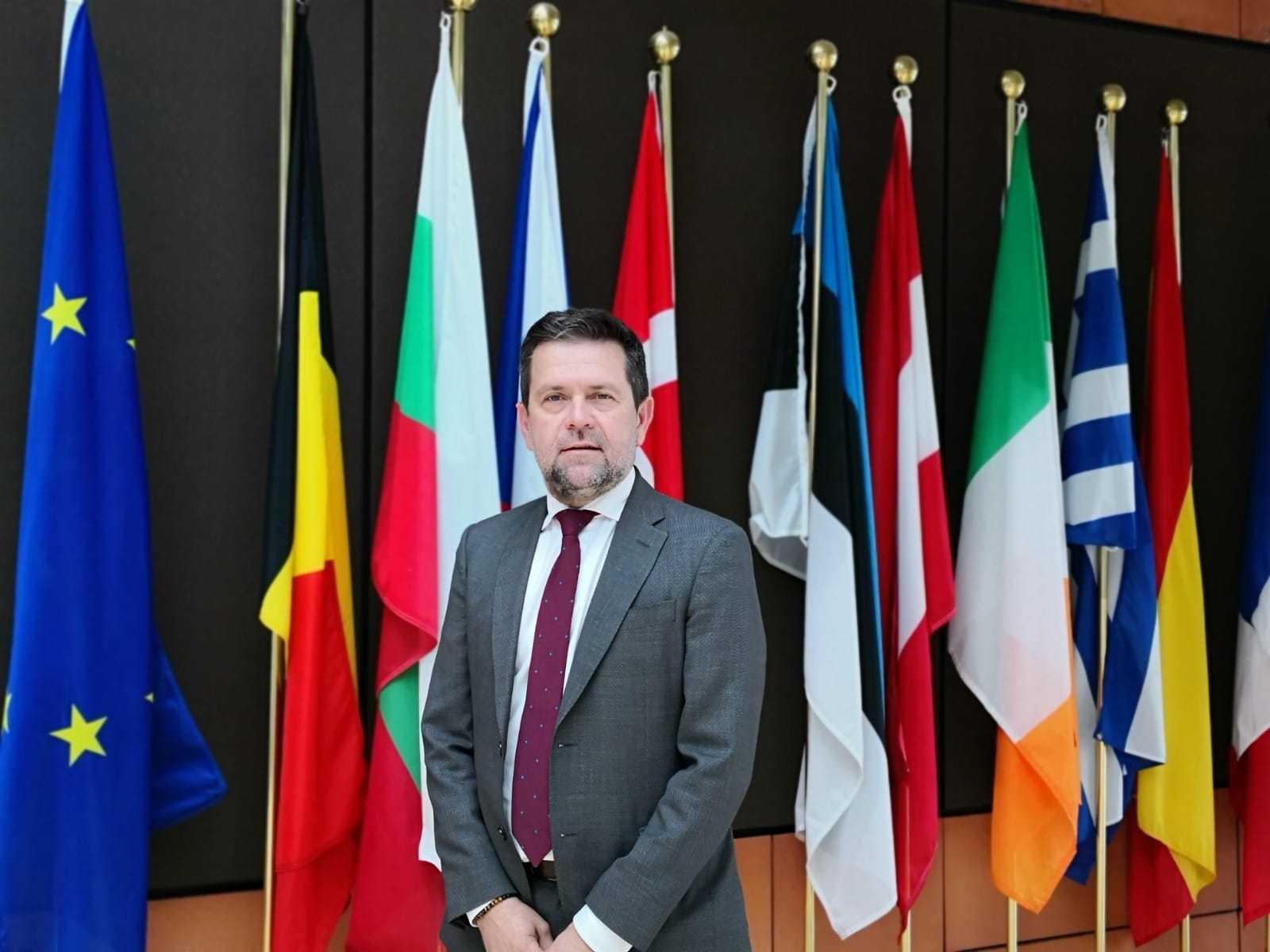 Juan Marín alerta de la amenaza del 'Brexit' para la agricultura