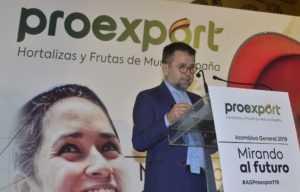 Juan Marín presidente de Proexport