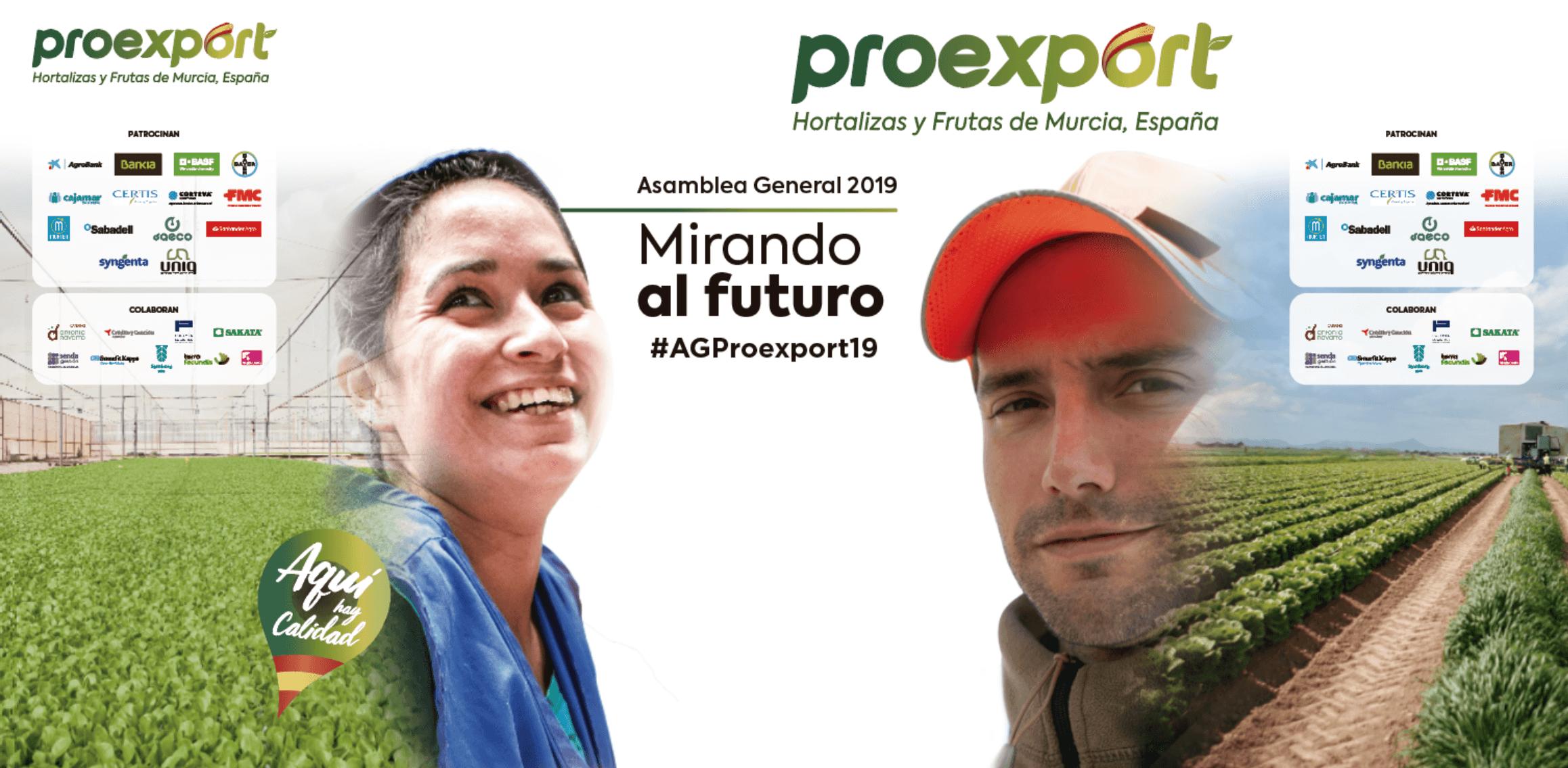 La innovación y la gastronomía en hortalizas y frutas centran la Asamblea de Proexport 2019