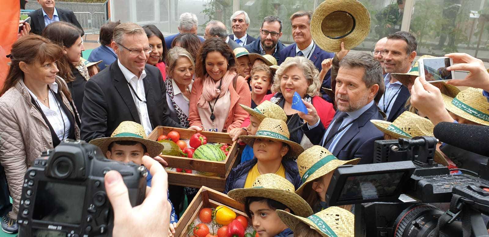 'CuTE, Cultivando el sabor' mostrará la producción hortofrutícola europea a los ciudadanos de la UE
