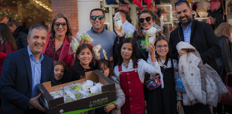 Murcia tiene el Papá Noel más saludable de España