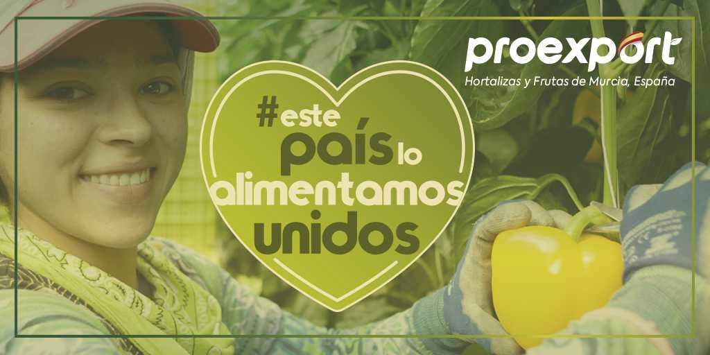 Proexport y sus empresas asociadas se suman a la acción #EstePaísLoAlimentamosUnidos