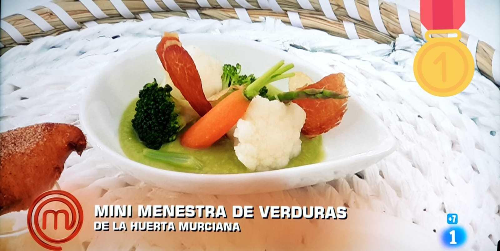 Proexport en 'Masterchef´ destaca el liderazgo hortofrutícola de la Región de Murcia en Europa