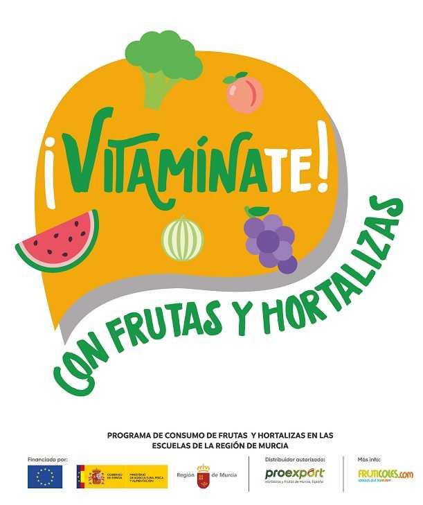 ¡Vitamínate! con frutas y hortalizas