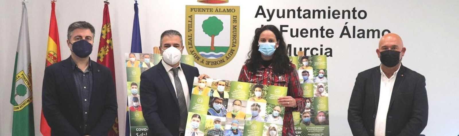 Fuente Álamo se une a Proexport para prevenir la COVID en el sector agrícola