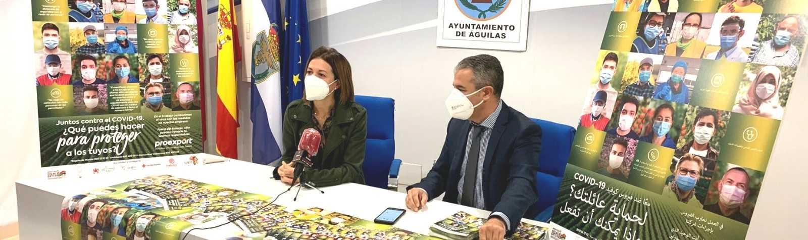 """Proexport y la agricultura aguileña, """"Juntos contra el COVID 19"""""""
